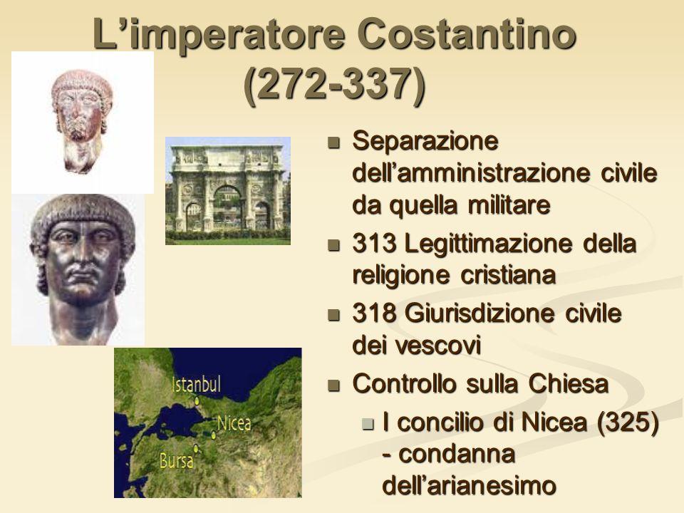 L'imperatore Costantino (272-337)