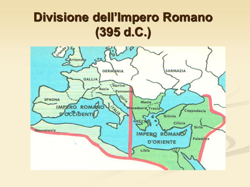 Divisione dell'Impero Romano (395 d.C.)