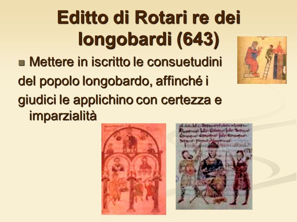 Editto di Rotari re dei longobardi (643)