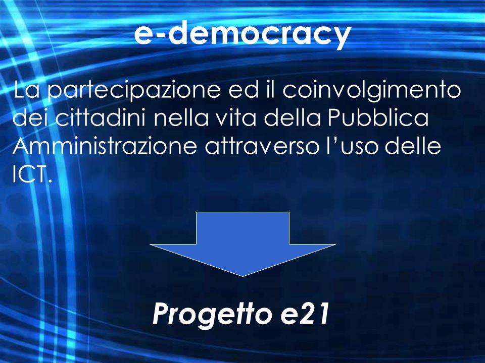 e-democracy Progetto e21