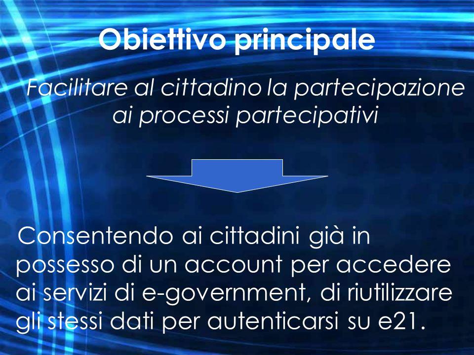 Facilitare al cittadino la partecipazione ai processi partecipativi