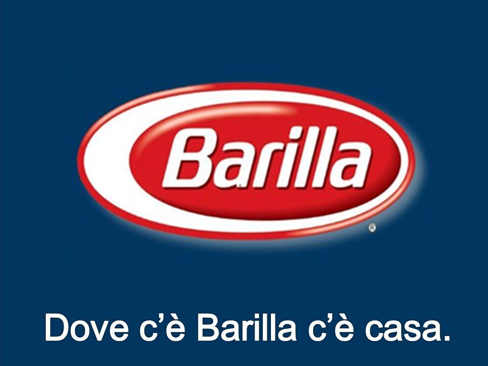 Dove c'è Barilla c'è casa.