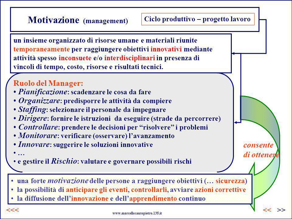 Motivazione (management)