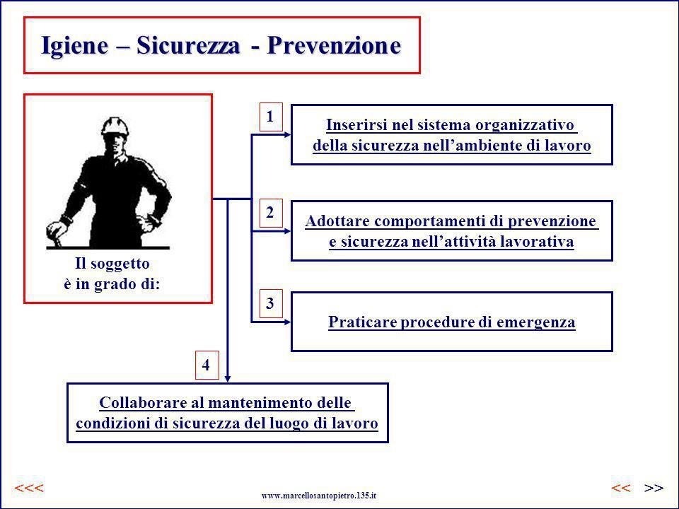 Igiene – Sicurezza - Prevenzione