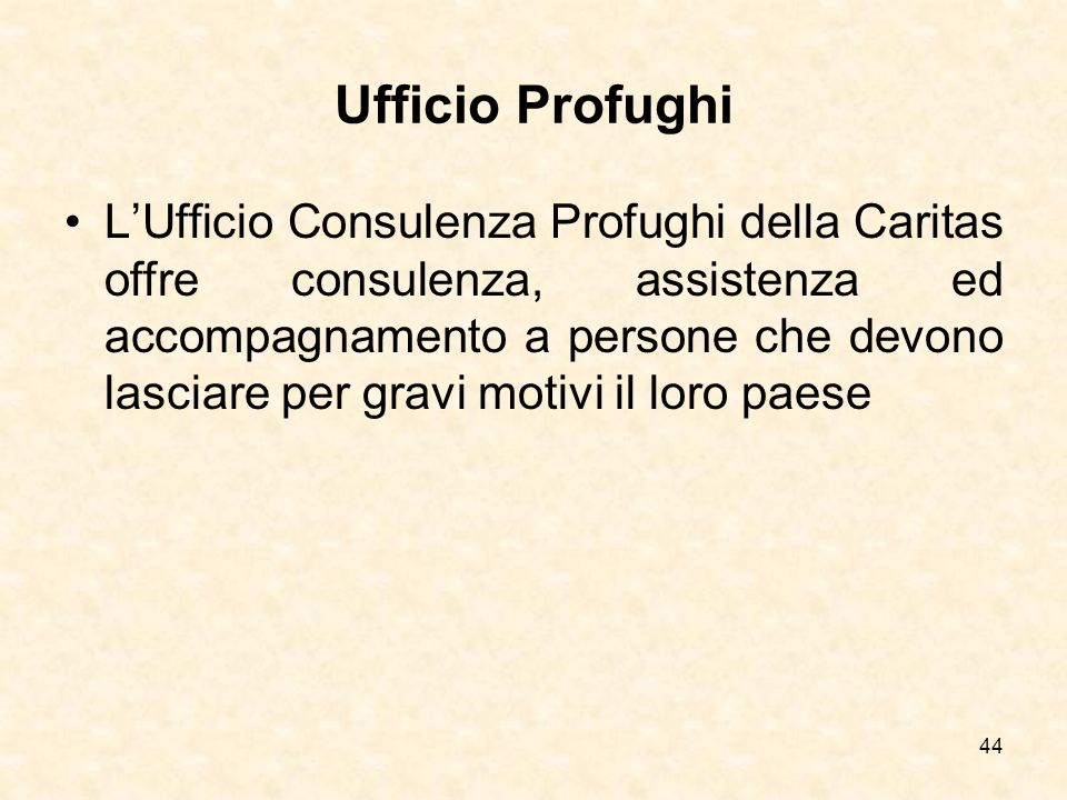 Ufficio Profughi