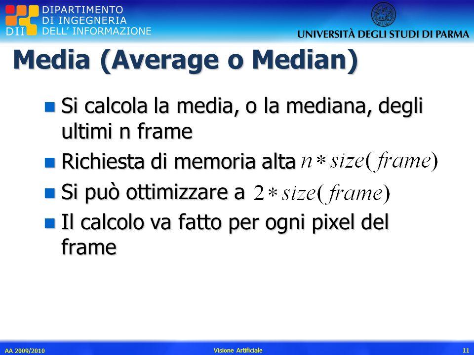 Media (Average o Median)