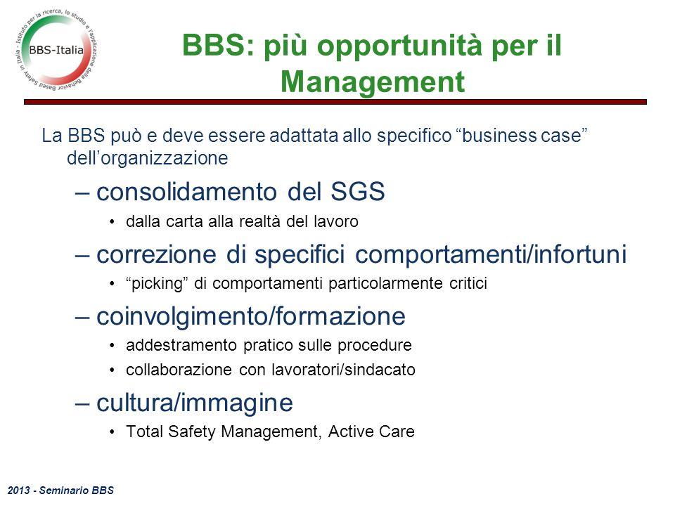 BBS: più opportunità per il Management