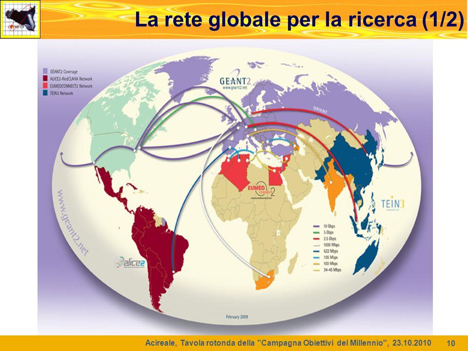 La rete globale per la ricerca (1/2)