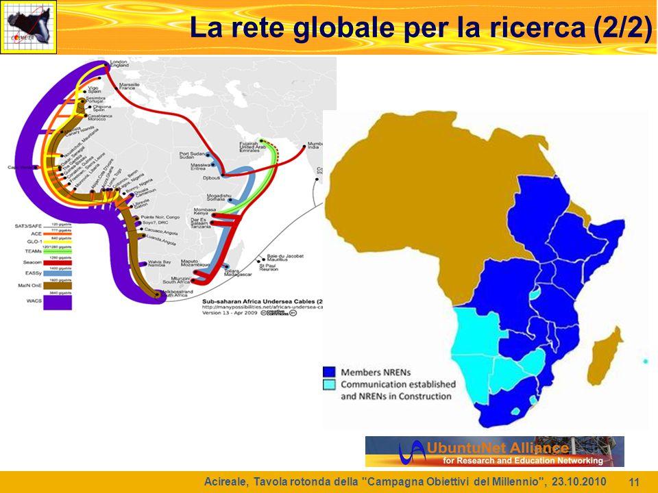 La rete globale per la ricerca (2/2)
