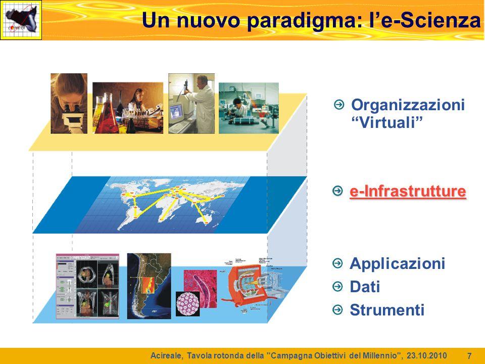 Un nuovo paradigma: l'e-Scienza