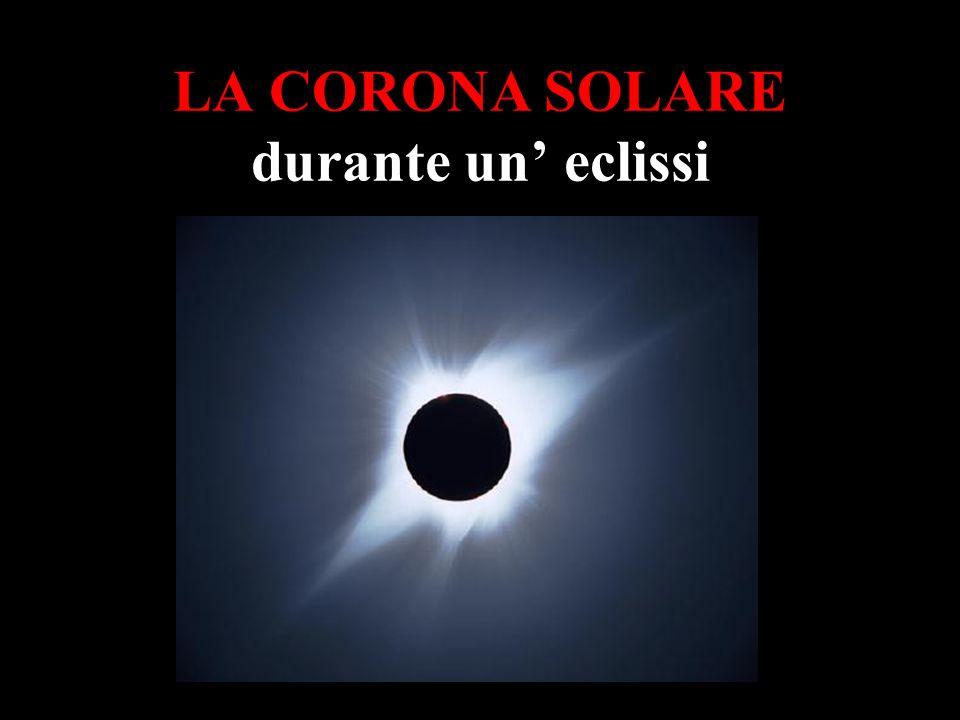 LA CORONA SOLARE durante un' eclissi