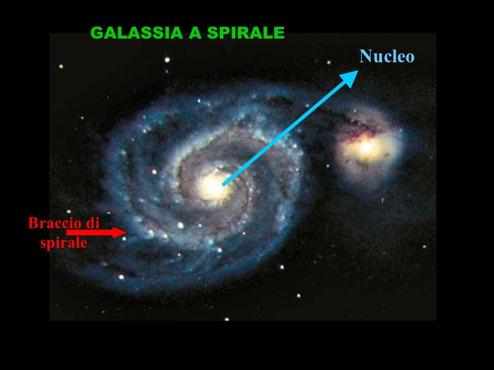 GALASSIA A SPIRALE Nucleo Braccio di spirale