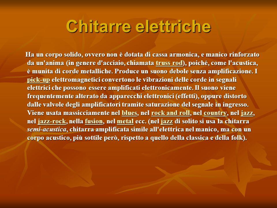 Chitarre elettriche