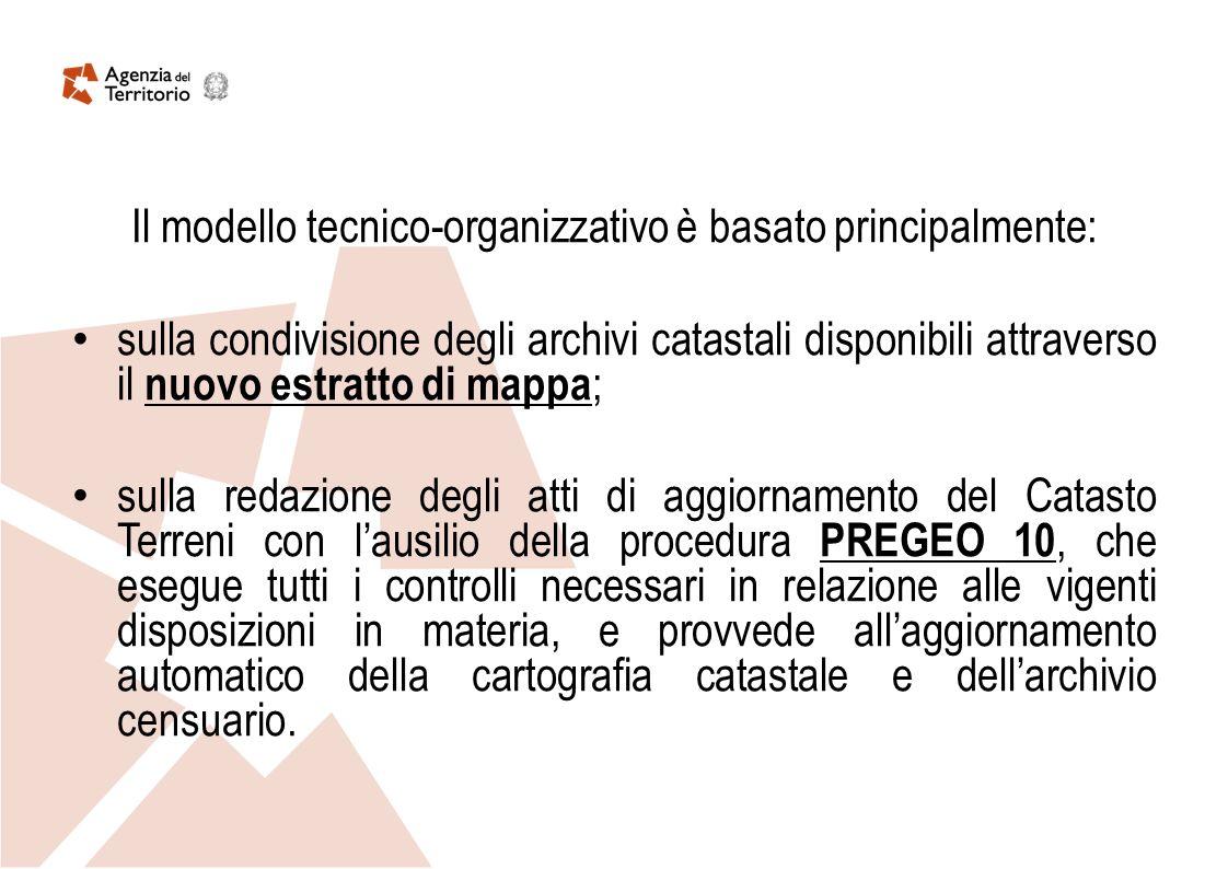 Il modello tecnico-organizzativo è basato principalmente: