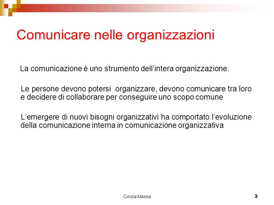 Comunicare nelle organizzazioni