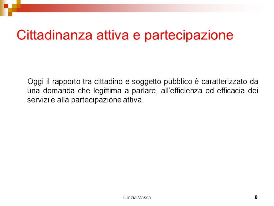 Cittadinanza attiva e partecipazione