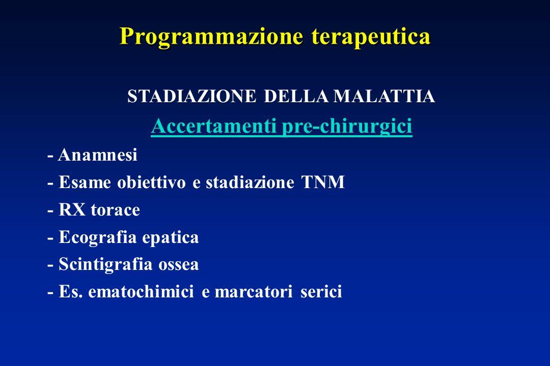 Programmazione terapeutica