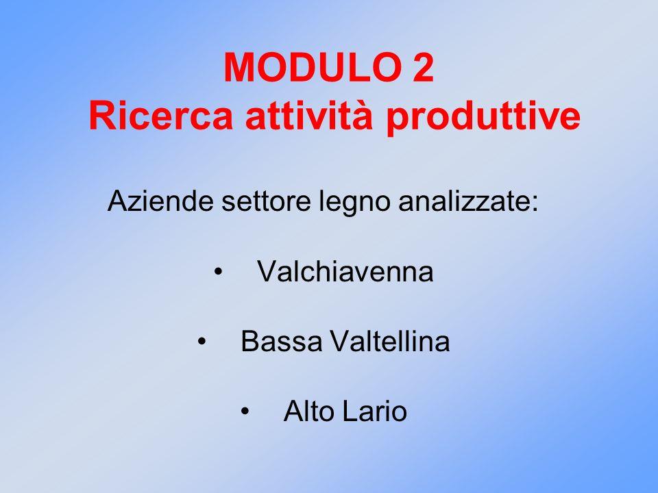 MODULO 2 Ricerca attività produttive