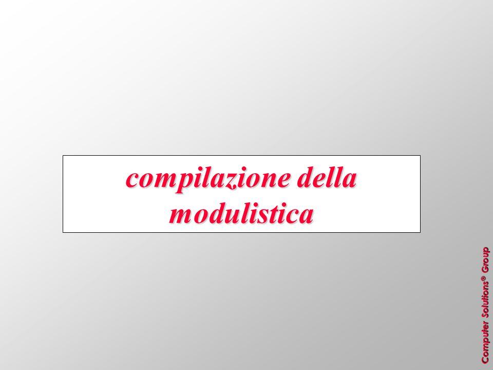 compilazione della modulistica