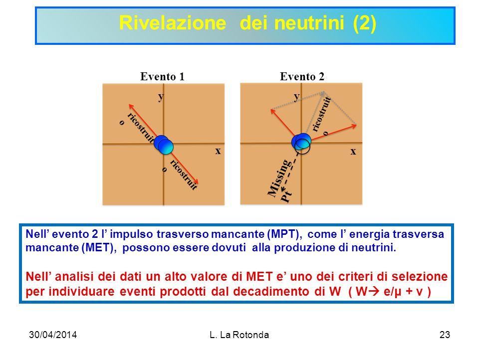 Rivelazione dei neutrini (2)
