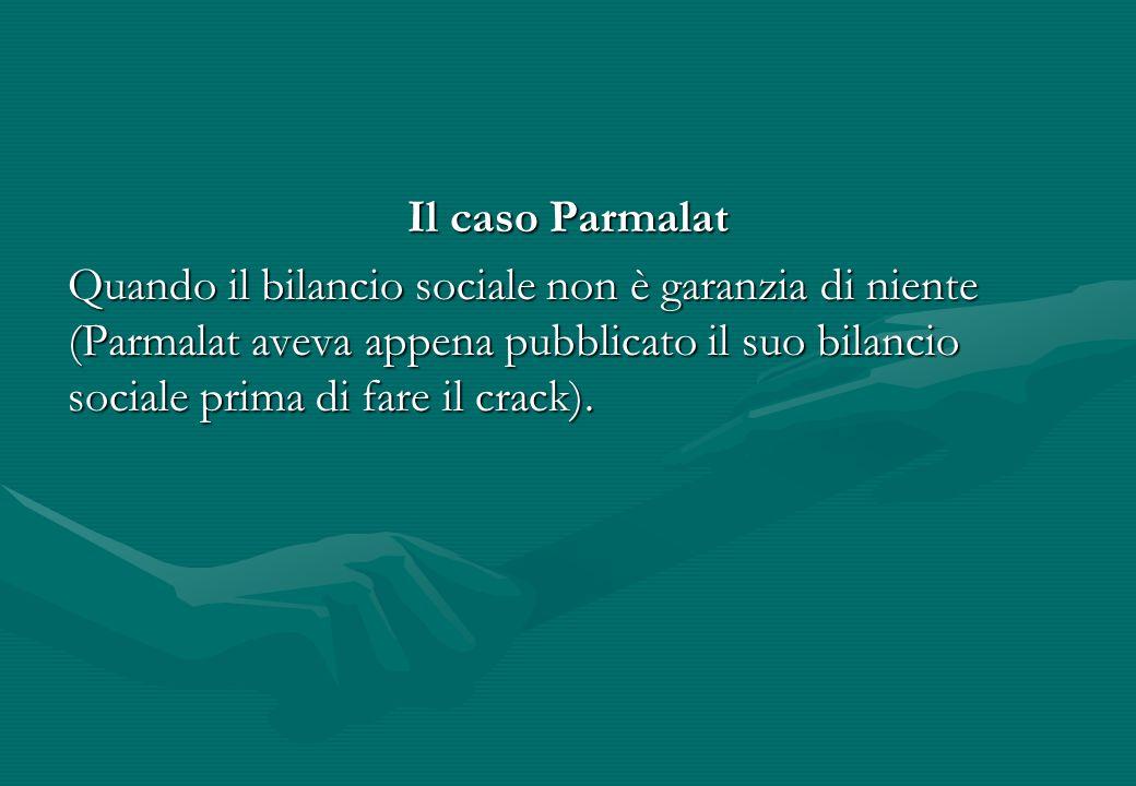 Il caso Parmalat
