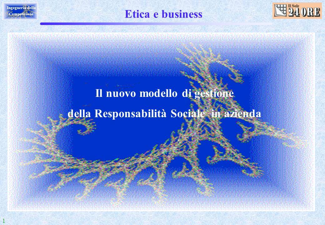 Il nuovo modello di gestione della Responsabilità Sociale in azienda