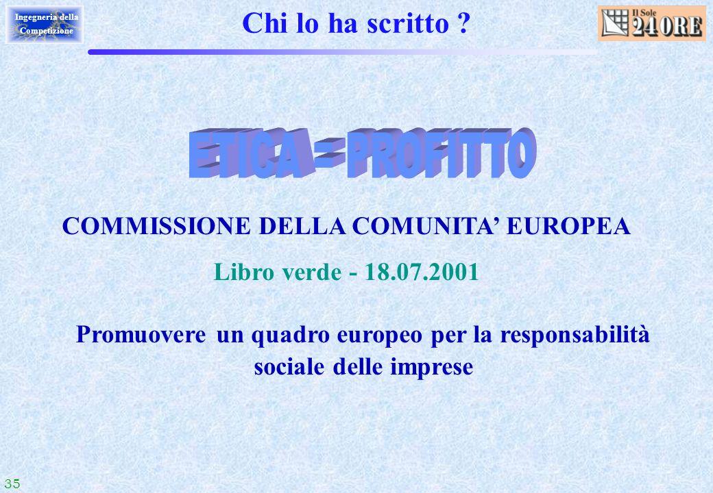 COMMISSIONE DELLA COMUNITA' EUROPEA