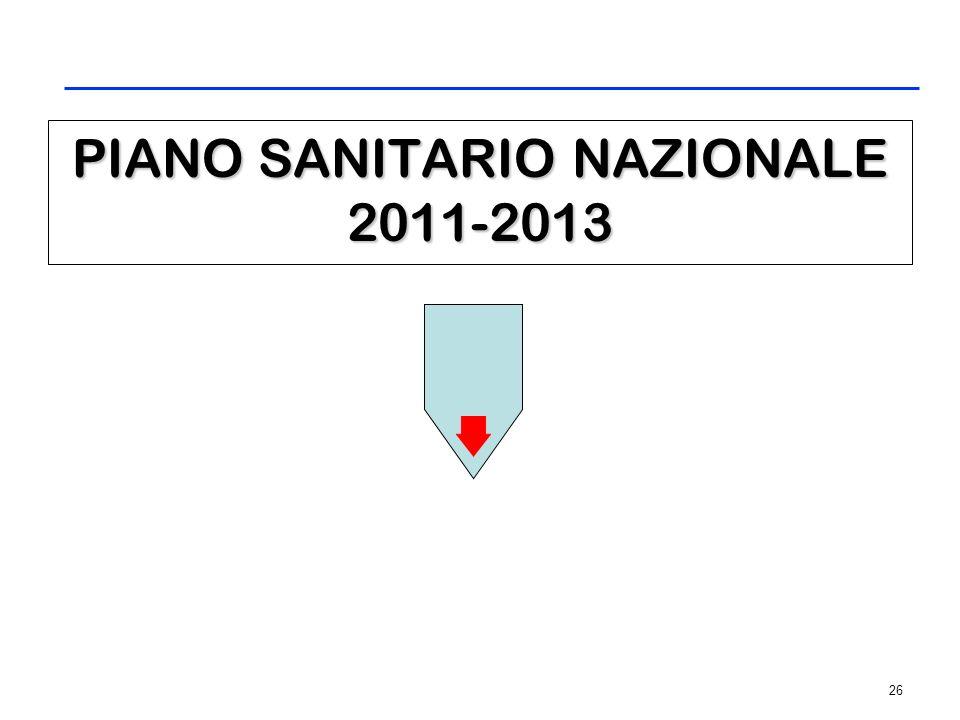 PIANO SANITARIO REGIONALE 2008-2010