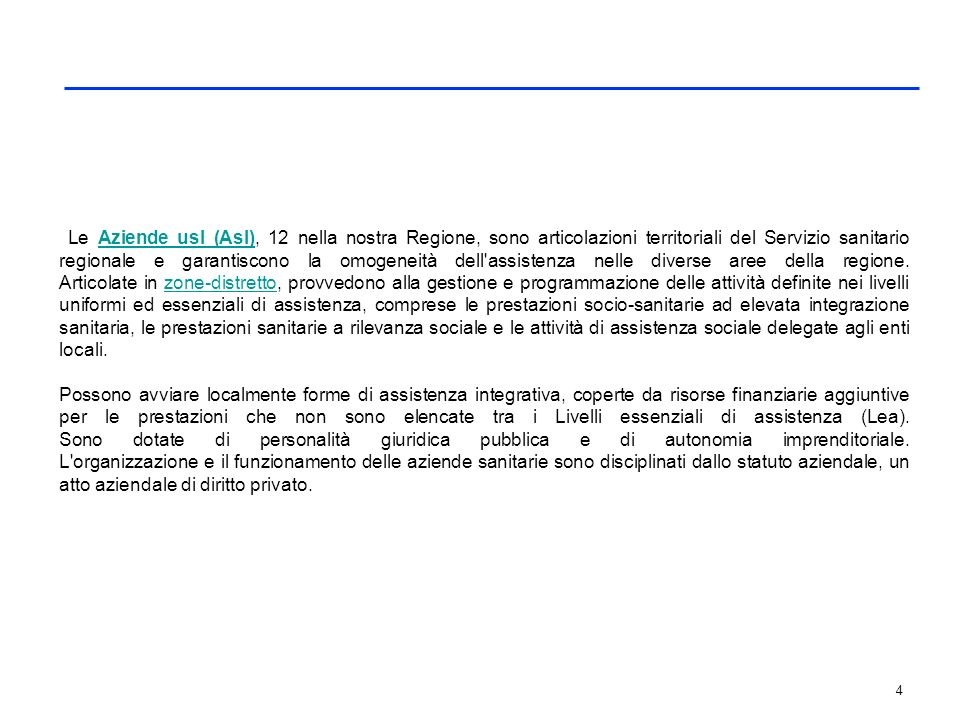 Le Aziende ospedaliere-universitarie (Aou) toscane sono 4