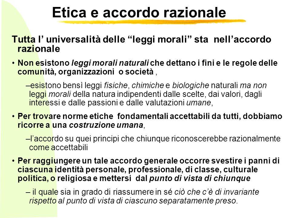 Etica e accordo razionale