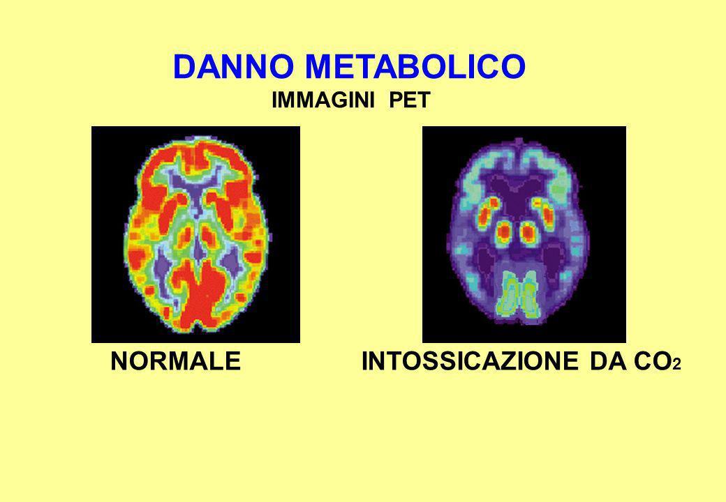 DANNO METABOLICO IMMAGINI PET