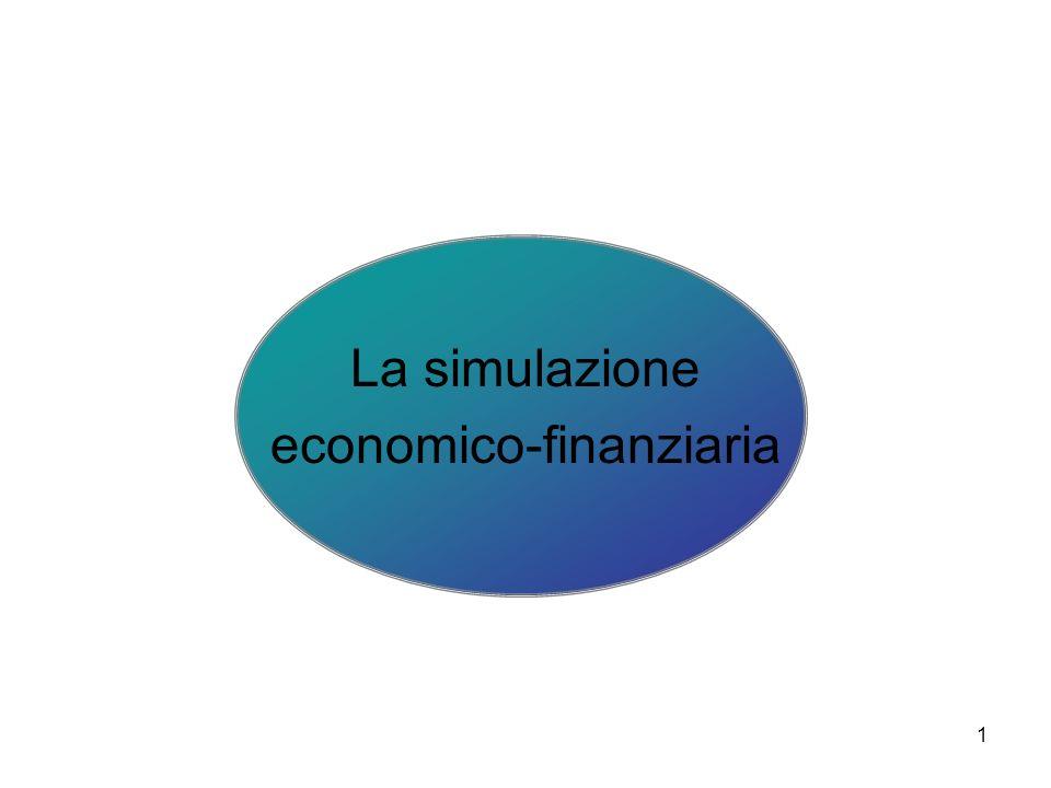 La simulazione economico-finanziaria