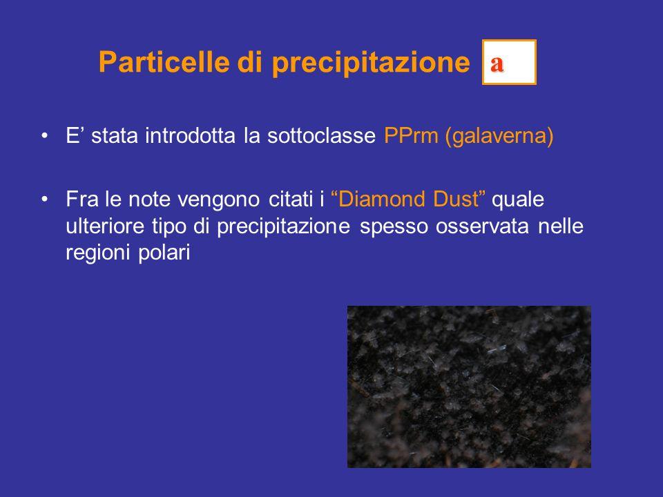 Particelle di precipitazione