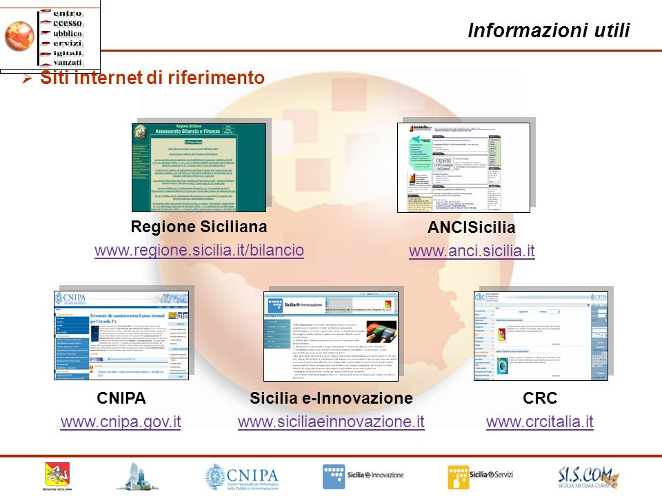 Sicilia e-Innovazione www.siciliaeinnovazione.it