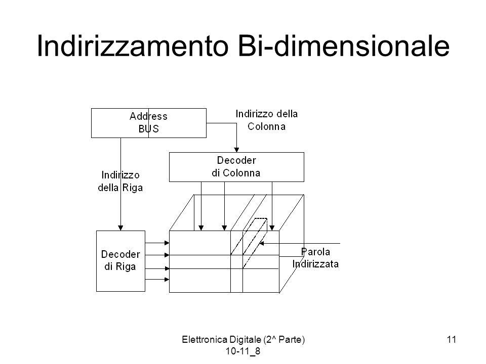 Indirizzamento Bi-dimensionale