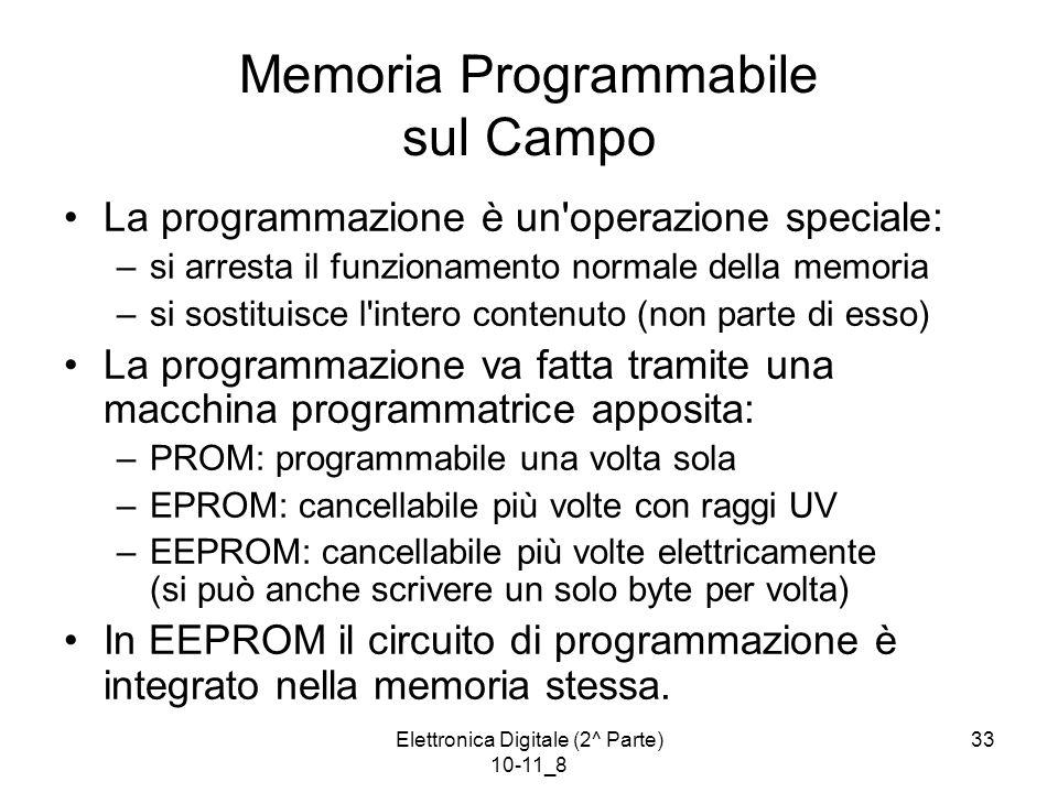 Memoria Programmabile sul Campo
