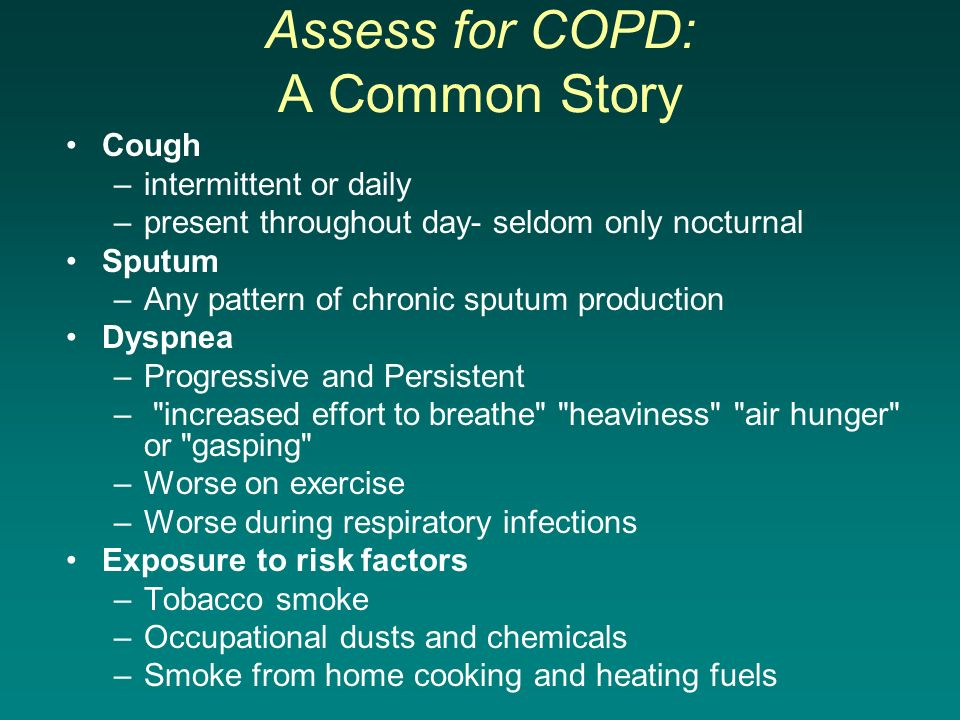 Assess for COPD: A Common Story