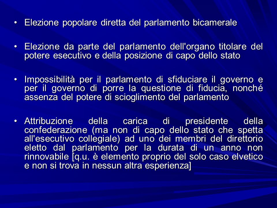 Forme di governo ppt scaricare for Parlamento in diretta