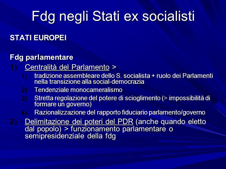 Fdg negli Stati ex socialisti