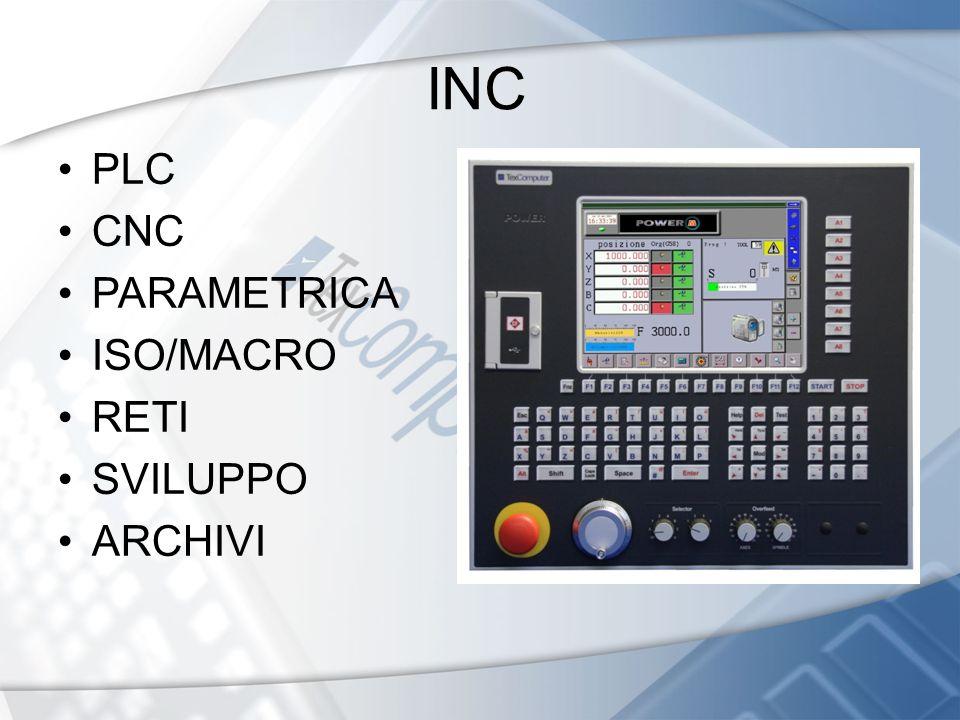 INC PLC CNC PARAMETRICA ISO/MACRO RETI SVILUPPO ARCHIVI 6