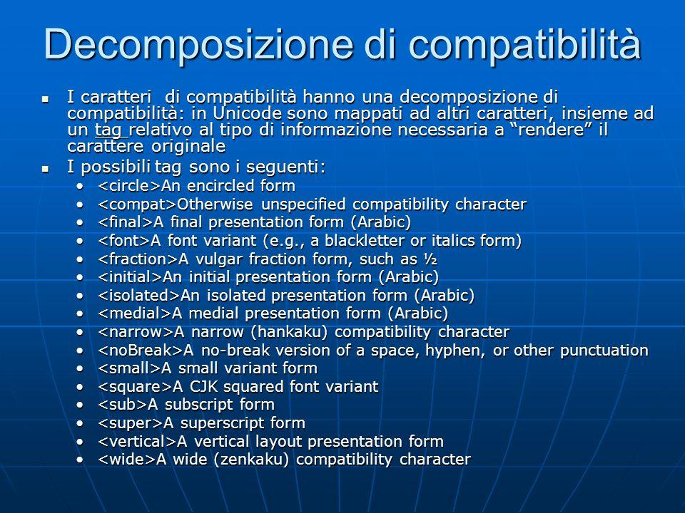 Decomposizione di compatibilità