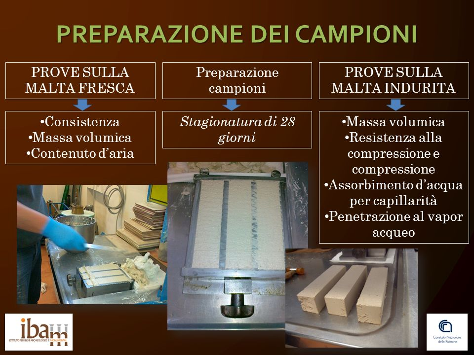 PREPARAZIONE DEI CAMPIONI