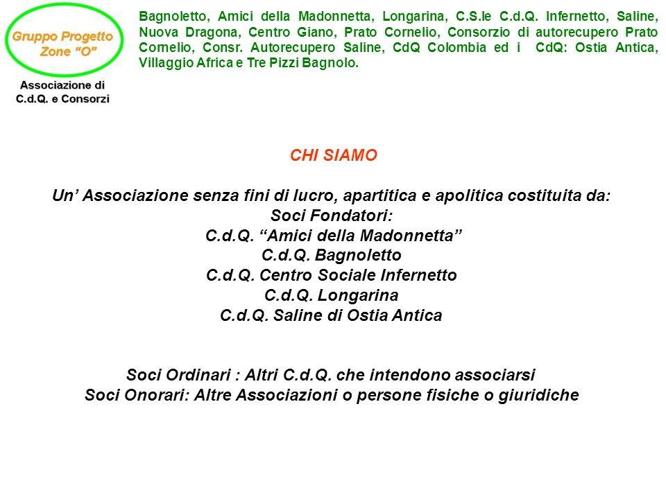 C.d.Q. Amici della Madonnetta C.d.Q. Bagnoletto