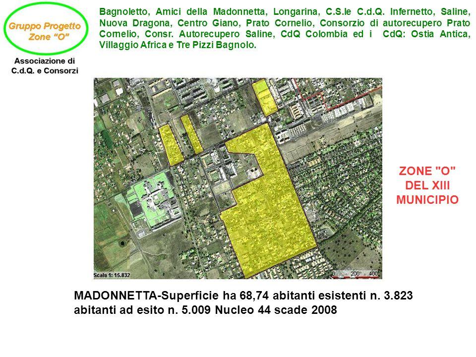 ZONE O DEL XIII MUNICIPIO