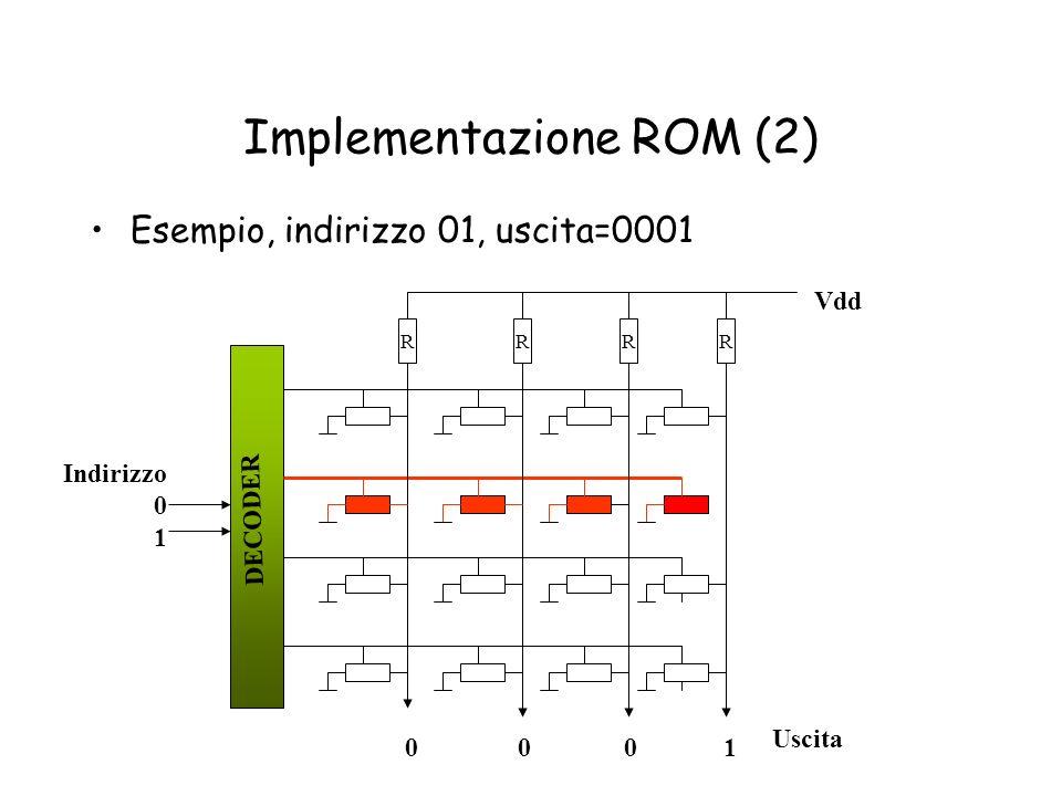 Implementazione ROM (2)
