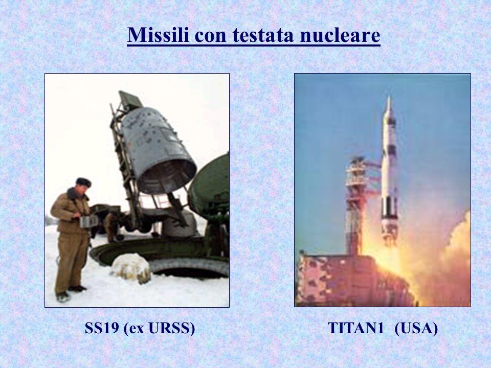 Missili con testata nucleare