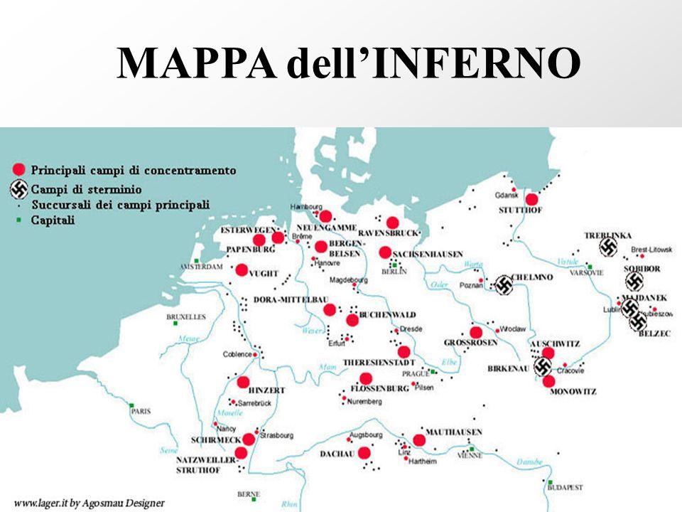 MAPPA dell'INFERNO