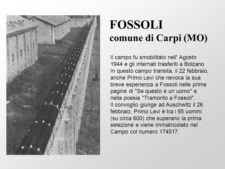 FOSSOLI comune di Carpi (MO)
