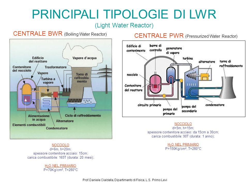 PRINCIPALI TIPOLOGIE DI LWR