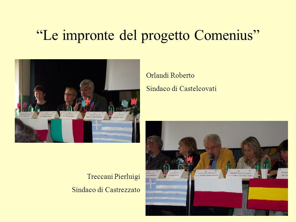 Le impronte del progetto Comenius